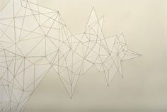 "Victoria Haven, Pressure Drop (detail), 2005, Ink on Paper, 38.25"" x 69.75"""
