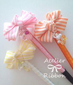 ボンボンリボンペン キット - atelier-ribbon