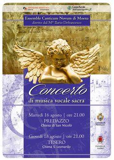 Concerto Canticum Novum a Predazzo @ Chiesetta S. Nicolò - cimitero | Predazzo…