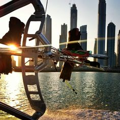 hshallah's photo on Instagram  Early morning Wakeboarding in dubai