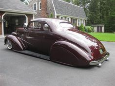 LeadSledMerc's 1937 Chevy Coupe