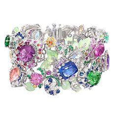 Fabergé Secret Garden Bracelet #Fabergé #SecretGarden #bracelet #gemstones