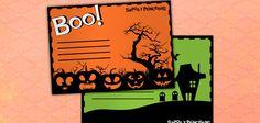 Invitaciones para tu fiesta de Halloween