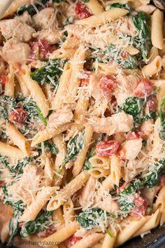 recipe: chicken florentine salad with orzo pasta [23]