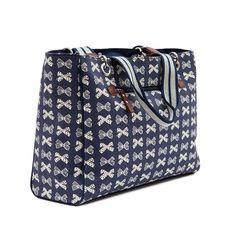 Pink Lining Bramley Tote - Navy Bows On Cream Louis Vuitton Speedy Bag, Louis Vuitton Damier, Cute Diaper Bags, Baby Changing Bags, Winter Sale, Navy Pink, Bucket Bag, Ebay, Shopping