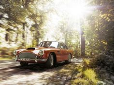 Aston Martin DB4 series 2 designed by Carrozzeria Touring