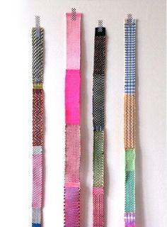 designer Hélène Lefeuvre #weven #weaving #trends #crafts #handmade #diy
