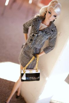 fashion doll, Chic Chanel: simple and elegent just like her