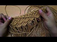 Tutorial Membuat Tas Macrame Motif Sisik Ikan - Part I - By Kenes - YouTube