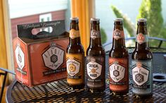 Elvehjem Brewing Company branding and packaging by Alan Chin, via Behance
