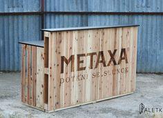 Bar for Metaxa event - outside
