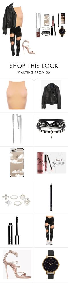 """""""Young god"""" by queenmorgan4 ❤ liked on Polyvore featuring Madewell, Kendra Scott, Casetify, Charlotte Russe, NARS Cosmetics, Givenchy, Dsquared2, Olivia Burton and Maybelline"""