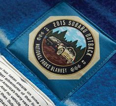 The 2015 Subaru Outback® and the National Parks have joined together to presents this limited-edition, commemorative blanket.