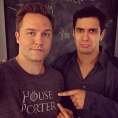 "elyesgabelfanpage: "" skittishkid: My dude, @elyesgabel, is bummed he doesn't have his own #GameOfThrones shirt. I mean, he was on the show. #HousePorter#HouseGabel #TeamScorpion """