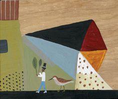 Eine weitere Arbeit von Javier Mayoral, neu auf www.aussenseiterkunst.ch Outsider Art, Art Brut, Visionary Art, Tribal Art, Naive, Folk Art, The Outsiders, Birds, Cornice