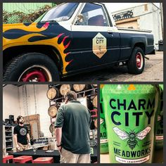 Big shout out to the guys @charmcitymead for letting us take some time off of work today and hang out. If you haven't already stop by and give them a visit. They're cranking out some killer good #local products. Never tried #mead? You're missing out! #cheers #fieldtrip #meadery #distillery #DrinkLocal #buylocal #charmcity #idrinkmaryland #maryland #Baltimore #spirits by lostarkdistilling