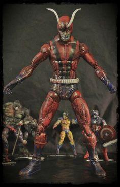 Marvel Select Villain Zombies figurine Magneto  Diamond Select