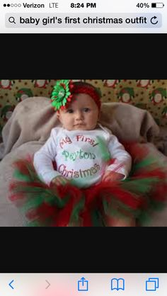 Baby's first Christmas!