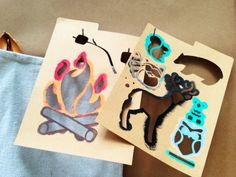 DIY Woodland Stencil Sets By Handmade Charlotte in Michaels Stores this weekend!