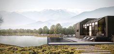 Lakeside Exterior on Behance