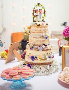 Torty w stylu Naked Cake, sprawdź najnowsze inspiracje na torty weselne!