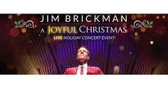 Win Dinner and a Show!   Jim Brickman: A Joyful Christmas (Plus dinner at The Quarter restaurant!)  Live at Berglund Center