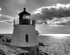 Castle Hill Lighthouse Newport Photography. Rhode by NJSimages