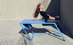 Gone With The Wind: Tilting Furniture by XYZ