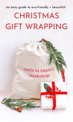 An easy guide to DIY eco-friendly holiday gift wrapping. These gift wrapping ideas using recyclable and reusable materials will also make your gifts stand out for creativity! Brown craft paper with twine is trendy to boot! Birthday Gift Wrapping, Christmas Gift Wrapping, Birthday Gifts, Frugal Christmas, Christmas Gifts, Holiday, Gift Wrap Storage, Simple Gifts, Wrapping Ideas