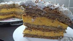 Egyiptomi torta Tiramisu, French Toast, Breakfast, Ethnic Recipes, Food, Caramel, Morning Coffee, Essen, Meals
