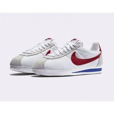 "Nike Classic Cortez Nylon ""Forrest Gump"" - Date de sortie - Release date Nike Cortez Forrest Gump, New Sneakers, Sneakers Nike, Nylons, Nike Classic Cortez, Pumped Up Kicks, Baskets Nike, Red And Grey, Vintage Nike"