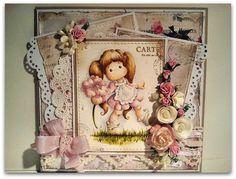 Magnolia cards by Barbara GR: Poppy Tilda
