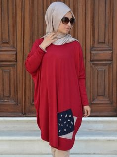 Sports Tunic - Red - Henna Elisa