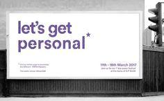 Team Lewis | Let's Get Personal - Billboard ad | Mentored by Michael Heins, Lewis.