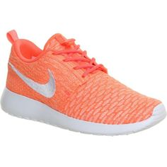 6343c8cad50fc NIKE Roshe run flyknit trainers ( 145) ❤ liked on Polyvore featuring shoes