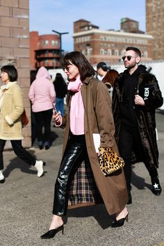 New York Fashion Week Street Style - All The Pretty Birds