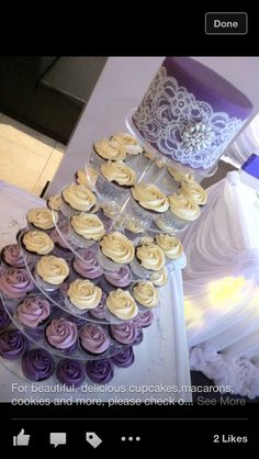 Cupcake/wedding cake