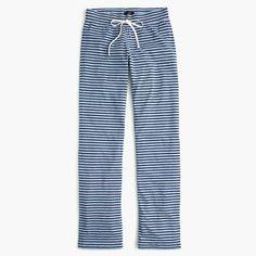 J.Crew+-+Dreamy+cotton+pant+in+stripe