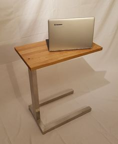 SwabianDesign Design Beistelltisch | Couchtisch | Sofatisch | Höhe 50cm-74cm Security Doors, Laptop Table, Shelf, Iron, Desk, Ebay, Furniture, Home Decor, Hairstyle