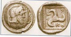 Греческая монета (Ликия, 470-440 гг до н.э.)    Трискелион и тайна числа 666 - alex_sitanov