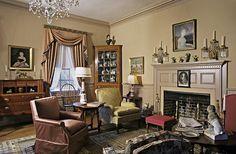Bassett Hall, Williamsburg, Virginia, 1753-1766. As furnished in Colonial Revival taste.