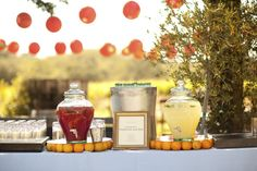 Lemonade stand by Trumpet Vine Catering - Paso Robles
