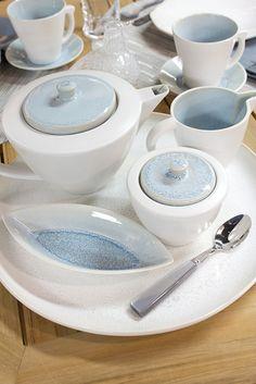 Jars Ceramics Vuelta Dinnerware: coffee and tea service