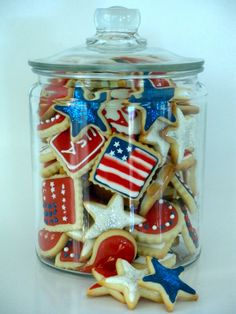 Sweetie Petitti: Happy Fourth Cookies!
