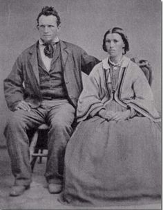 William Hood & Mary Caroline Sorensen Hill Married 1 January 1860 Submitted by SBCatmull - Photos and Stories — FamilySearch.org