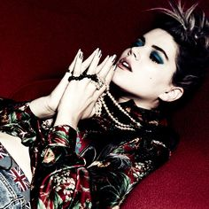 Michel Comte - Vogue Italy Soko 2014