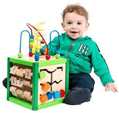 ALEX Discover My Busy Town Wooden Activity Cube - My First Learning Bead Maze Cube Activity Center by Kids Destiny >>> Extra info might be found at the image link. (This is an affiliate link). Activity Cube, Activity Centers, Toddler Toys, Baby Toys, Girl Toddler, Kids Toys, Learning Activities, Kids Learning, Top Gifts For Boys