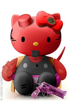 Hell-o Kitty  http://www.flickr.com/photos/josephsenior/