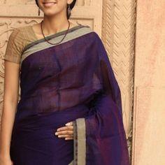 Handwoven Silk Cotton Saree 5