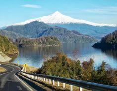 Volcán Choshuenco y Lago Panguipulli, Chile